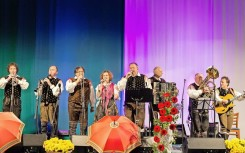 Alpski kvintet med nastopom
